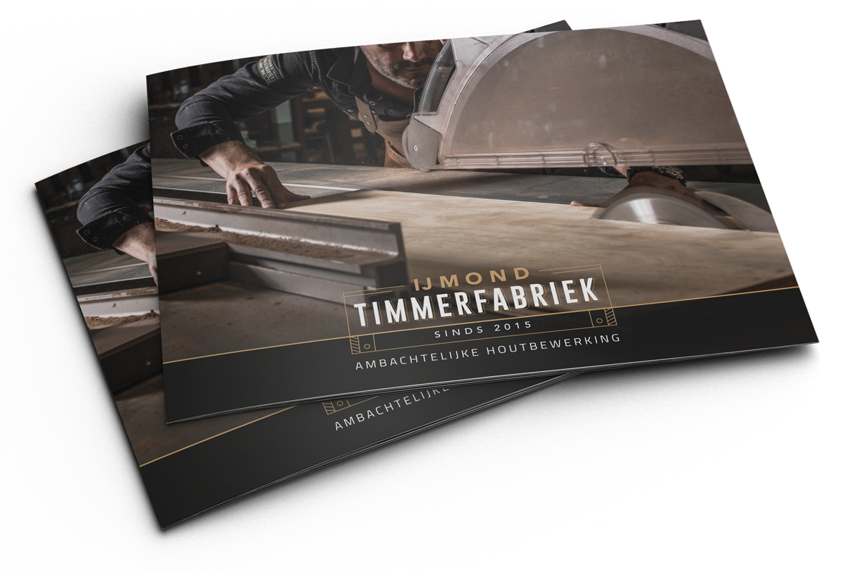 Brochure IJmond Timmerfabriek
